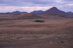 Wêreldsend, the base station of IRDNC in the Kunene (1998).